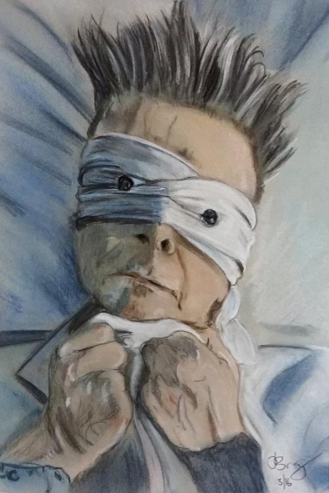 David Bowie por Slogirl64